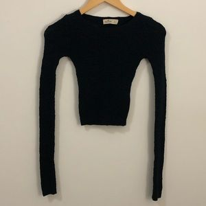Cropped Hollister Sweater